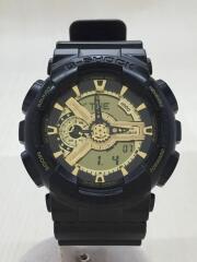 クォーツ腕時計・G-SHOCK/デジアナ/ゴールド/ブラック/GA-1BR-5AJF