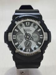 クォーツ腕時計・G-SHOCK/デジアナ/ブラック/GA-200BW-1AJF