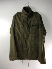 アーミーサテンM-65/F.U.UNITY/0211AB05/ミリタリージャケット/S/コットン/カーキ
