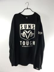 長袖Tシャツ/XXL/コットン/ブラック