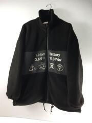 19AW/フリースジャケット/1/ポリエステル/BLK