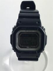 クォーツ腕時計/デジタル/ラバー/GRY/NVY