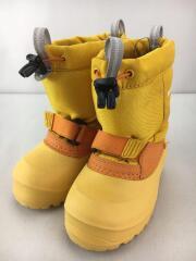 キッズ靴/14cm/ブーツ/ナイロン/YLW/モンベル