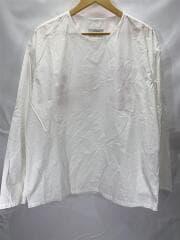 カットソー/--/コットン/WHT/バックプリントプルオーバーシャツ/×CAN/2020SS