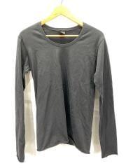 長袖Tシャツ/M/コットン/BLK/9925/pk02-3in-pack C/S L/S