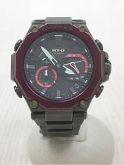 G-SHOCK/MT-G/ソーラー腕時計/アナログ/BLK/BLK/MTG-B2000BD-1A4JF