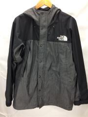 Mountain Light Denim Jacket/マウンテンパーカ/L/ナイロン/BLK/NP12032