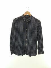 長袖シャツ/15SUS01A/1/コットン/BLU/チェック