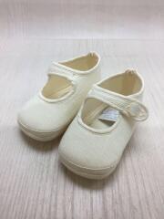 キッズ靴/--/スニーカー/リネン/WHT