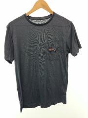 90S/波タグ/STY52675SP19/Tシャツ/S/ポリエステル/NVY/無地