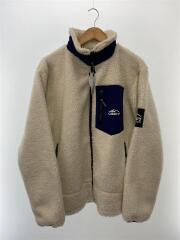 20AW/CP-4216004/フリースジャケット/XL/ポリエステル/WHT