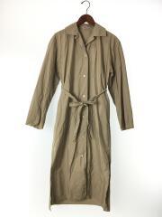 SELVEDGE WEATHER CLOTH LONGSHIRT DRESS/1/コットン/襟元汚れ有