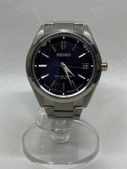 ブライツ/ソーラー腕時計/アナログ/ステンレス/BLK/SLV/7B24-0BH0/箱・コマ有