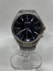 ATTESA/ソーラー腕時計/アナログ/ステンレス/BLK/SLV/H149-S118921/箱有