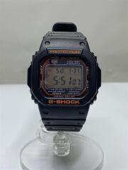 ソーラー腕時計・G-SHOCK/デジタル/ラバー/BLK/BLK/箱有