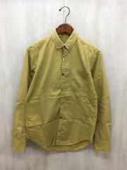 長袖シャツ/36/コットン/CML/ボタンダウンシャツ