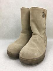 グレイシー/ショートブーツ/23.5cm/BEG/スウェード/NL1975-265