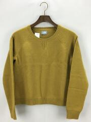 Trek Crew Sweater/クルーネックセーター(薄手)/L/ウール/YLW/NTW61509