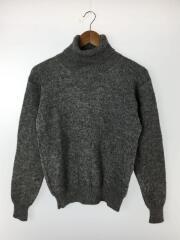 タートルネックセーター(厚手)/M/ウール/GRY/413419