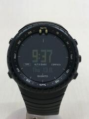 クォーツ腕時計/デジタル/ラバー/BLK/BLK/SS014279010/Core ALLBLACK
