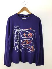 NAPA by MARTINE ROSE/S-SENALES L/S T/Tシャツ/L/コットン/PUP/N0YIG9V