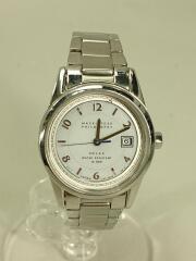 ソーラー腕時計/アナログ/--/WHT/V137-0BY0