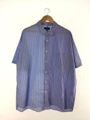 半袖シャツ/M/コットン/HA020065AA/切替半袖シャツ/オーバーサイズ