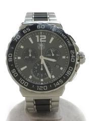 クォーツ腕時計・フォーミュラ1クロノグラフスティールセラミック/アナログ/グレー/CAU1115.BA086/FORMULA1  タキメーター