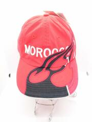 タグ付/MOROCCO CAP/18SS/キャップ/FREE/コットン/レッド/DW3876/SCAR