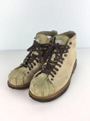 ブーツ/25.5cm/ベージュ/スウェード