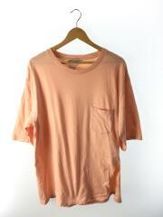 Slit pocket t/us1257/Tシャツ/2(M)/コットン/ピンク