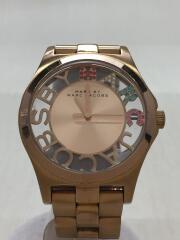 ヘンリースケルトン/クォーツ腕時計/アナログ/ステンレス/マークバイマークジェイコブス