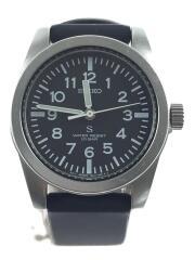 SUSデザイン復刻モデル/クォーツ腕時計/アナログ/ラバー/ブラック/7N01-0KL0
