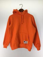 パーカー/×Champion 19SS Outline Hooded Sweatshirt/コットン/オレンジ/プルオーバー