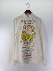 19SS/multicolor el leon shirt/長袖シャツ/40(L)/コットン/ホワイト/総柄