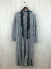 Size:36/ロングカーディガン/コート/native seeds/19SS/xs8292/リネン/GRY