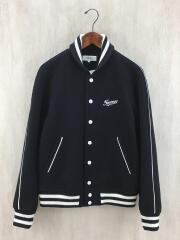 Size:M/スタジャン/ウール/BLK