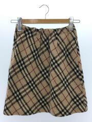 スカート/160cm/ウール/BEG