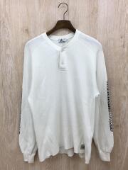 Size:M/長袖Tシャツ/サーマル/02181CS06/コットン/WHT