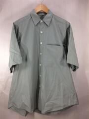 Size:4/半袖シャツ/FINX TWILL HALF-SLEEVE BIG SHIRTS/コットン/GRN