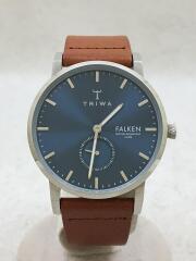 クォーツ腕時計/BLUE RAY FALKEN BROWN CLASSIC/FAST121/アナログ/レザー