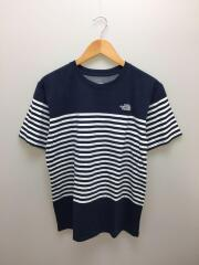 Tシャツ/XL/コットン/NVY/ボーダー/NT31713