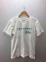 Tシャツ/O/コットン/ホワイト/白/CW4874
