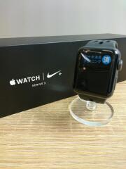 スマートウォッチ/Apple Watch Series 3 Nike+ 38mm GPSモデル/デジタル