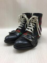 Queercore brogue boot/483956/レースアップブーツ/UK8/マルチカラー