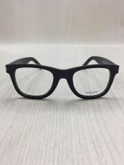 メガネ/ウェリントン/プラスチック/BLK/CLR/SL50/F