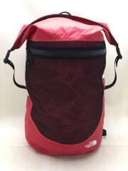 Waterproof BACK PACK /リュック/ナイロン/RED/無地