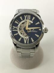 自動巻腕時計/アナログ/ステンレス/NVY/SLV/RO0011-501
