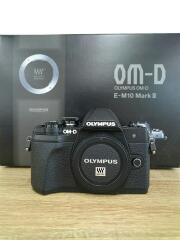 デジタル一眼カメラ OM-D E-M10 Mark III EZダブルズームキット [ブラック]