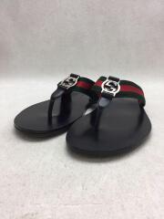 Web strap thong sandal/サンダル/--/BLK/322744